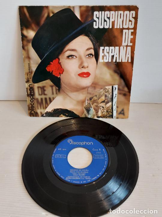 SUSPIROS DE ESPAÑA / VARIOS ARTISTAS / EP - DISCOPHON-1963 / MBC. ***/*** (Música - Discos de Vinilo - EPs - Flamenco, Canción española y Cuplé)