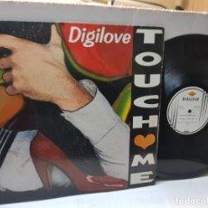 Discos de vinilo: MAXI SINGLE-DIGILOVE-TOUCH ME- EN FUNDA ORIGINAL 1994. Lote 243000135