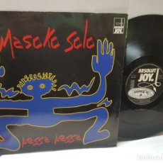 Discos de vinilo: MAXI SINGLE-MASOKO SOLO-PESSA PESSA- EN FUNDA ORIGINAL 1994. Lote 243002590