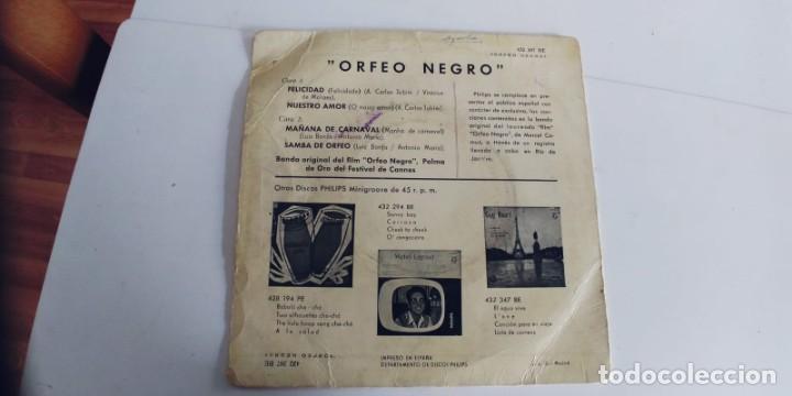Discos de vinilo: ORFEO NEGRO-EP BSO DEL FILM - Foto 2 - 243002690