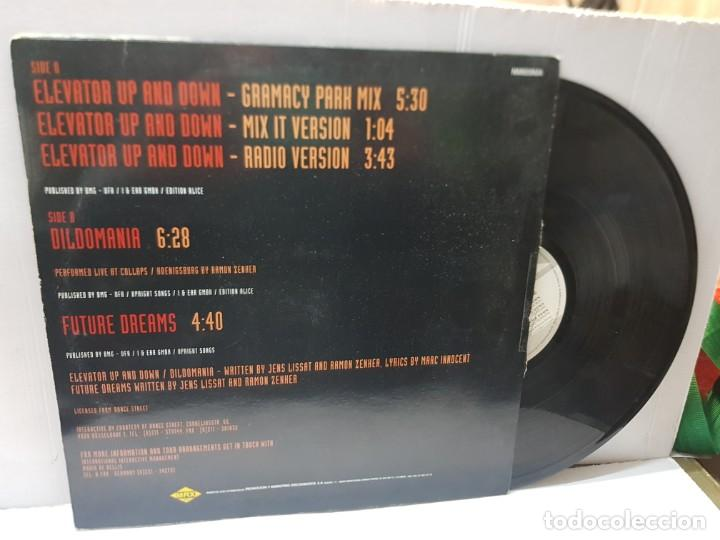 Discos de vinilo: MAXI SINGLE-INTERACTIVE-ELEVATOR UP & DOWN- en funda original 1992 - Foto 2 - 243004260