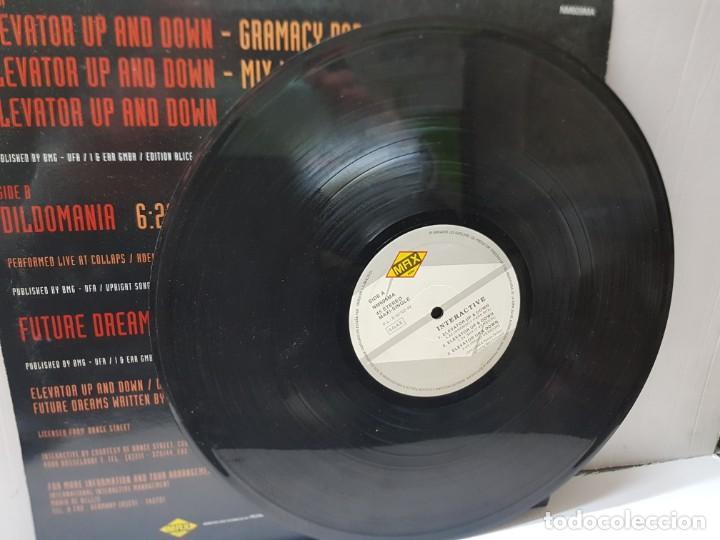 Discos de vinilo: MAXI SINGLE-INTERACTIVE-ELEVATOR UP & DOWN- en funda original 1992 - Foto 3 - 243004260