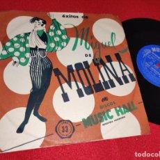Discos de vinilo: MIGUEL DE MOLINA LA BIEN PAGA/DON TRIQUI Y TRAQUE/EL SORONGO +1 EP 7'' 195? ARGENTINA RARO. Lote 243010970