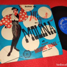 Discos de vinilo: MIGUEL DE MOLINA OJOS VERDES/CATALINA/NO ME DIGAS QUE NO +1 EP 7'' 195? ARGENTINA RARO. Lote 243011065
