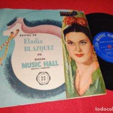 Discos de vinilo: ELADIA BLAZQUEZ CARIÑO VERDA/LOS SIETE NIÑOS DE ECIJA/FUEGO FUEGO +1 EP 195? ARGENTINA. Lote 243011780