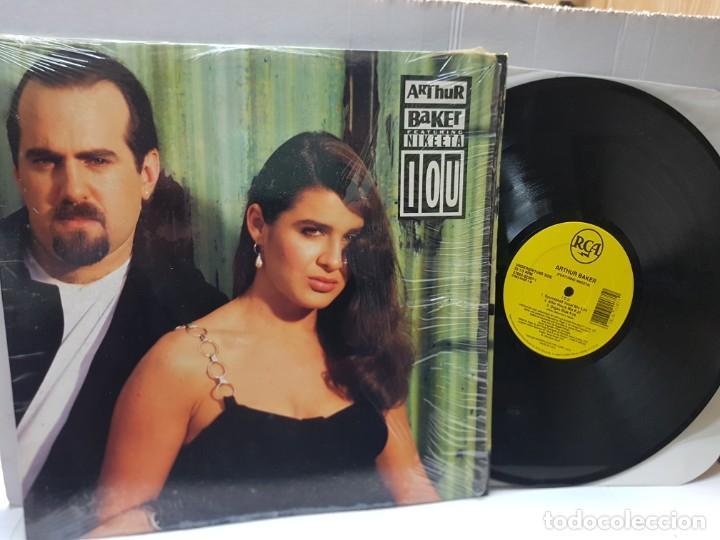 MAXI SINGLE 33 1/3 -ARTHUR BAKER-FEATURING NIKEETA- EN FUNDA ORIGINAL 1992 (Música - Discos de Vinilo - Maxi Singles - Pop - Rock Internacional de los 90 a la actualidad)