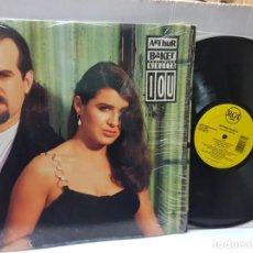 Discos de vinilo: DISCO 33 1/3 EPS-ARTHUR BAKER-FEATURING NIKEETA- EN FUNDA ORIGINAL 1992. Lote 243016060