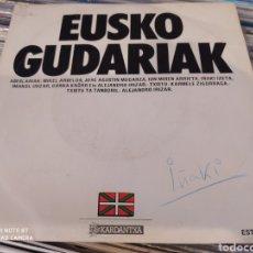 Discos de vinilo: EUSKO GUDARIAK. SINGLE VINILO.. Lote 243016995