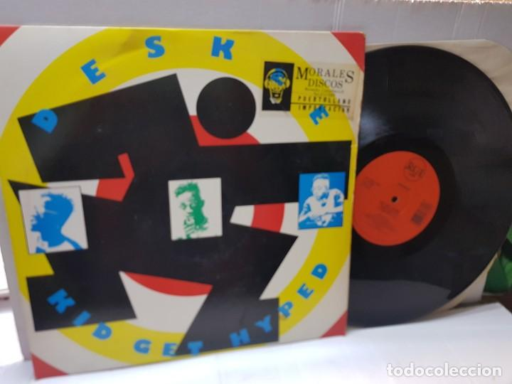 MAXI SINGLE 33 1/3-DESKEE-KID GET HYPED- EN FUNDA ORIGINAL 1991 (Música - Discos de Vinilo - Maxi Singles - Pop - Rock Internacional de los 90 a la actualidad)