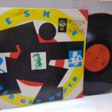 Discos de vinilo: DISCO 33 1/3 EPS-DESKEE-KID GET HYPED- EN FUNDA ORIGINAL 1991. Lote 243017815