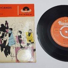 Dischi in vinile: EXITOS AMERICANOS. MAX AND THE MAXIES. THE MANHATTANS. EP. HECHO EN ESPAÑA 1958. POLYDOR.. Lote 243022935