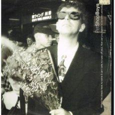 Discos de vinilo: PET SHOP BOYS - WHERE THE STREETS HAVE NO NAME + 1 - MAXI SINGLE 1991 - ED. UK. Lote 243029810