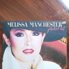 Discos de vinilo: MELISSA MANCHESTER – GREATEST HITS - ARISTA – AL 9611 - 1983, CANADÁ. Lote 243032450