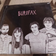 Discos de vinilo: BUROFAX - SINGLE VINILO PRECINTADO. HURRAH! MÚSICA. INDIE. Lote 243034480