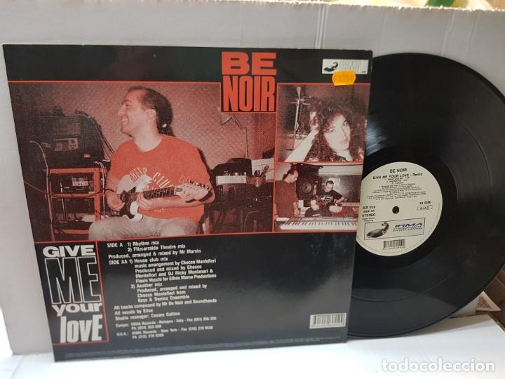 Discos de vinilo: DISCO 33 REMIX-BE NOIR-CIVE ME YOUR LOVE- en funda original 1991 - Foto 2 - 243035850