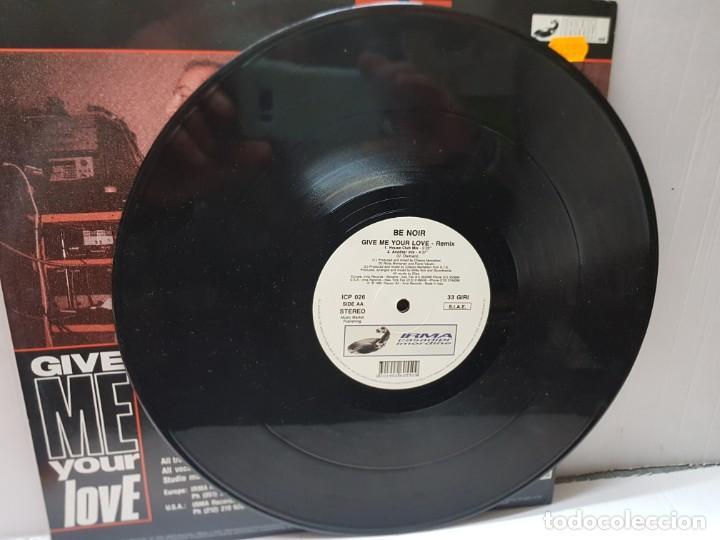 Discos de vinilo: DISCO 33 REMIX-BE NOIR-CIVE ME YOUR LOVE- en funda original 1991 - Foto 3 - 243035850