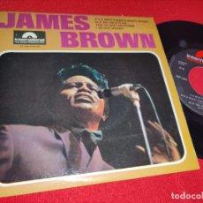 Discos de vinilo: JAMES BROWN IT'S A MAN'S MAN'S MAN'S WORLD/I'VE GOT MONEY +2 EP 7'' 1966 POLYDOR FRANCE FRANCIA. Lote 243036285