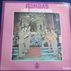 Discos de vinilo: SINGLE LOS MARISMEÑOS. RUMBAS. Lote 243043785