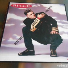 Discos de vinil: VANILLA ICE - MAXI - SINGLE, PLAY THAT FUNKY MUSIC + 1, AÑO 1990 MADE IN EEC. Lote 243049495
