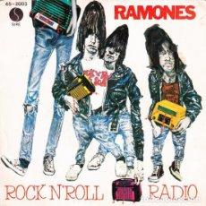 Disques de vinyle: RAMONES DO YOU REMEMBER ROCK N ROLL. Lote 243051805