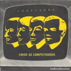 Discos de vinilo: KRAFTWERK AMOR DE COMPUTADOA. Lote 243052455