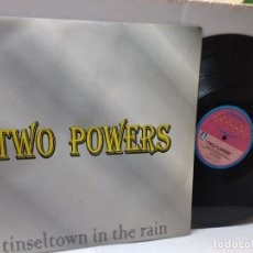 Discos de vinilo: MAXI SINGLE-TWO POWERS-TINSELTOWN IN THE RAIN- EN FUNDA ORIGINAL 1996. Lote 243053190