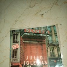 Discos de vinilo: JULIO IGLESIAS OLIMPIA DE PARÍS DIRECTO 1973. Lote 243079355