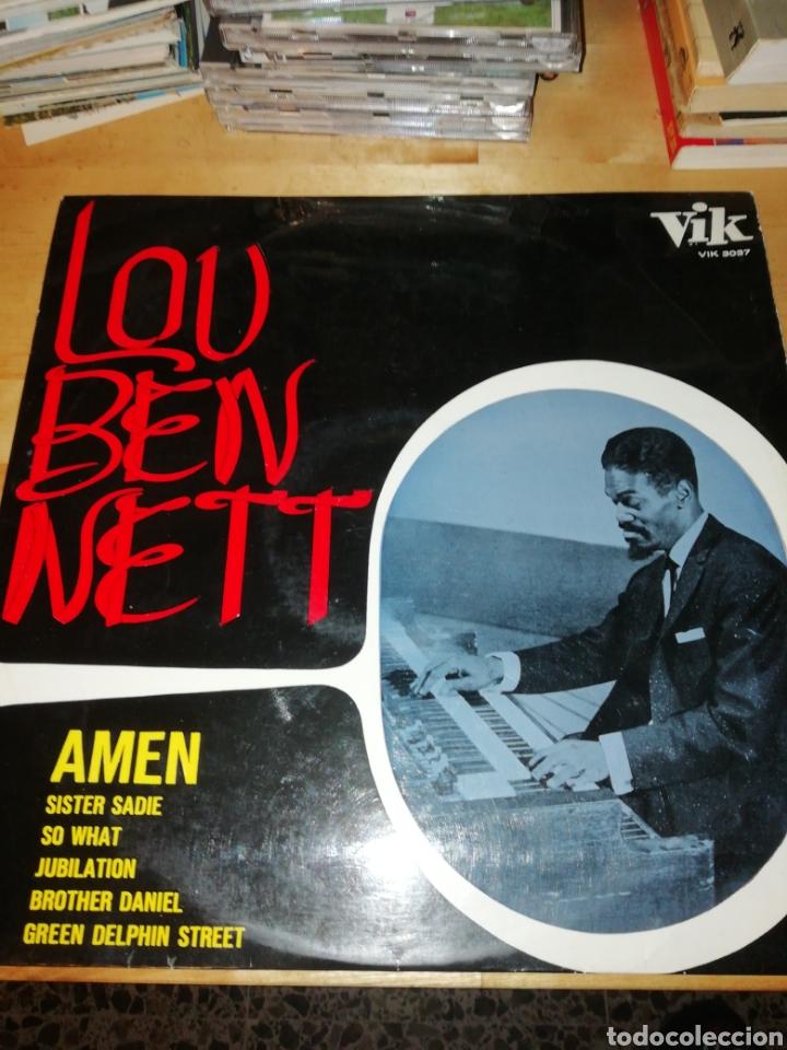 LOU BENNETT - AMEN - VIK 3037 - KENNY CLARKE - EDICIÓN ESPAÑOLA (Música - Discos - LP Vinilo - Jazz, Jazz-Rock, Blues y R&B)