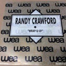Discos de vinilo: RANDY CRAWFORD - WRAP-U-UP. PROMOCIONAL WEA 1989.. Lote 243092420
