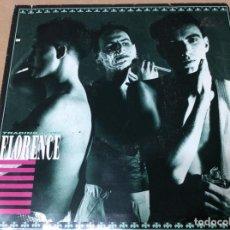 Discos de vinilo: FLORENCE - TRADING LOVE. SANNI RECORDS,1986. . PROMOCIONAL.. Lote 243093175