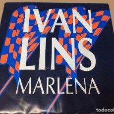 Discos de vinilo: IVAN LINS – MARLENA / MARLENA. PROMOCIONAL, REPRISE RECORDS 1989.. Lote 243093445