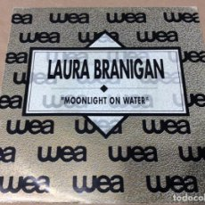 Discos de vinilo: LAURA BRANIGAN - MOONLIGHT ON WATER. PROMOCIONAL. ATLANTIC 1990. Lote 243093635