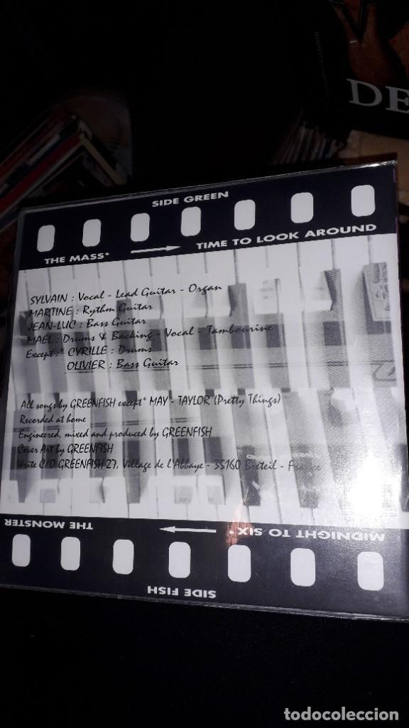 """Discos de vinilo: E.P. 7"""" 45 RPM - GREENFISH """"The Mass"""" + 3 (French Neo Garage 1995) - Foto 2 - 243096635"""