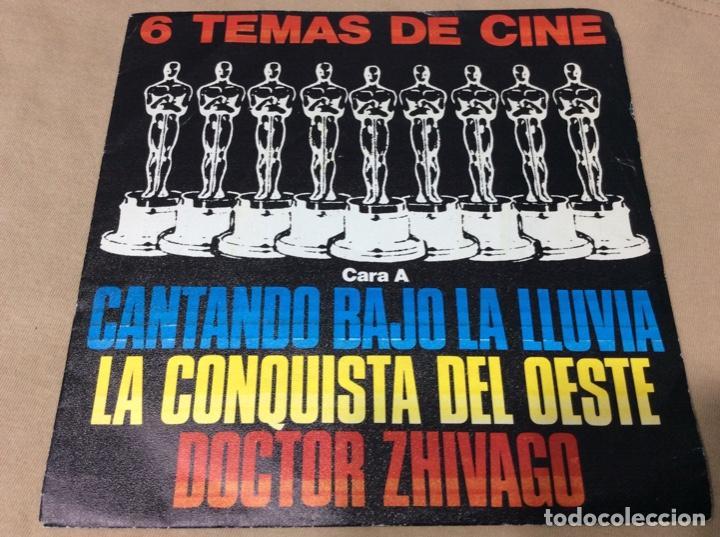 6 TEMAS DE CINE. CANTANDO BAJO LA LLUVIA. LA CONQUISTA DEL OESTE. DOCTOR ZHIVAGO. +3. POLYDOR 1980. (Música - Discos de Vinilo - EPs - Bandas Sonoras y Actores)