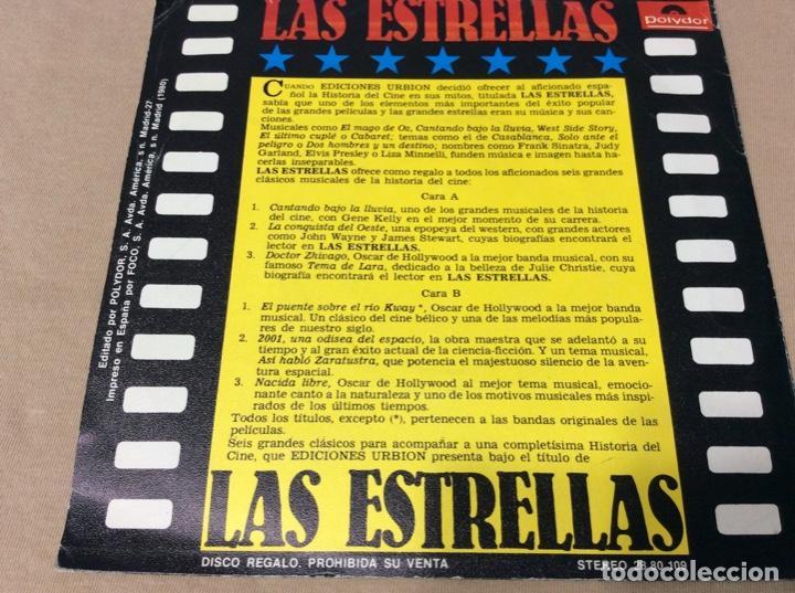Discos de vinilo: 6 TEMAS DE CINE. Cantando bajo la lluvia. La conquista del oeste. Doctor zhivago. +3. Polydor 1980. - Foto 2 - 243097140