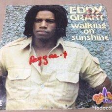 Discos de vinilo: EDDY GRANT – WALKING ON SUNSHINE. SUBSHINE JAM. ED FRANCESA. ICE 1979.. Lote 243097800