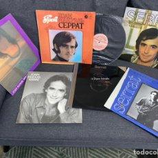 Discos de vinilo: SERRAT VINILOS EN MUY BUEN ESTADO. Lote 243098720