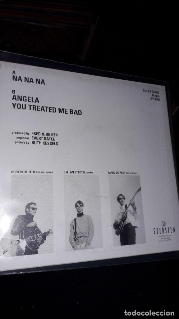 "Discos de vinilo: E.P. 7"" 45 RPM - KEK 66 ""Na Na Na""//""Angela"", ""You Treated Me Bad"" (Neo garage Guerssen 1995) - Foto 2 - 243103995"