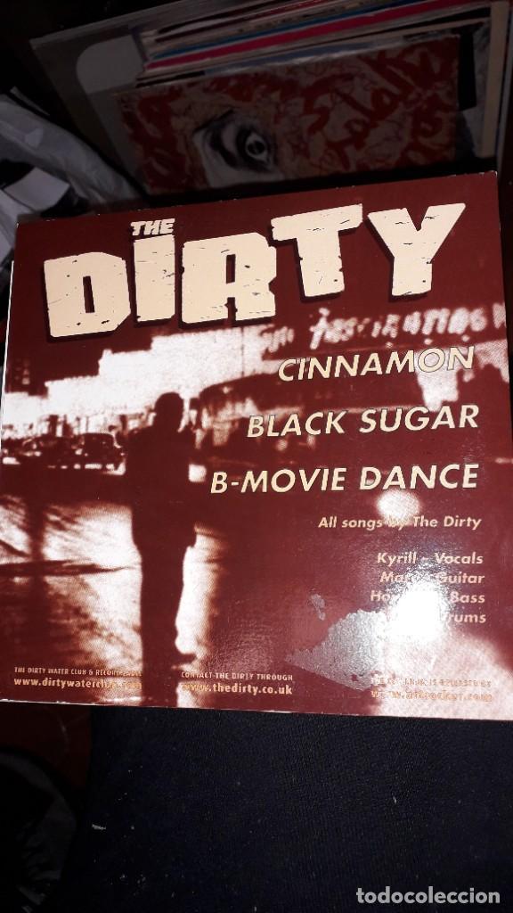"""Discos de vinilo: E.P. 45 RPM - THE DIRTY """"Cinnamon""""//""""Black Sugar"""", """"B-Movie Dance"""" (garage rock 2003) - Foto 2 - 243104140"""