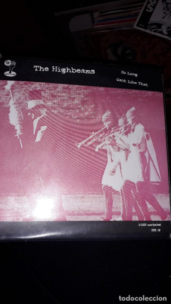 "Discos de vinilo: E.P. 7"" 45 RPM SPLIT - THE STUCK-UPS ""Awkward"",""Really Bad Luck""//THE HIGHBEAMS ""So Long"",""Cant..."" - Foto 2 - 243111295"