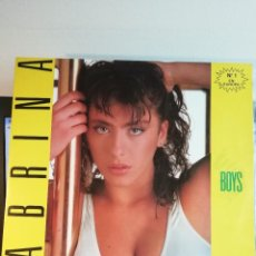 Discos de vinil: RAR MAXI 12. SABRINA. BOYS. ITALO DISCO. MADE IN SPAIN. Lote 258197085