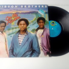 Discos de vinilo: GIBSON BROTHERS LP ON THE RIVIERA 1980 VG+ FUNK DISCO. Lote 132142722