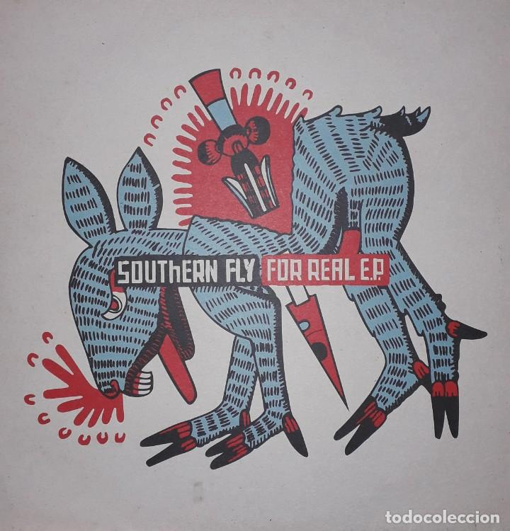 "MAXI E.P. 12"" - SOUTHERN FLY - FOR REAL E.P. (1999 ALTERNATIVE ROCK, DOWNTEMPO) (Música - Discos de Vinilo - EPs - Pop - Rock Internacional de los 90 a la actualidad)"