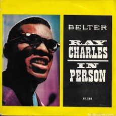 Discos de vinilo: RAY CHARLES IN PERSON WAT'D I SAY. Lote 243125495