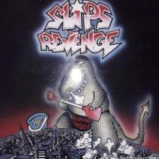 """Discos de vinilo: MAXI E.P. 12"""" - SLIPS REVENGE - SLIPPING INSIDE (1990 PUNK-ROCK)-RED VINYL!!!. Lote 243127125"""