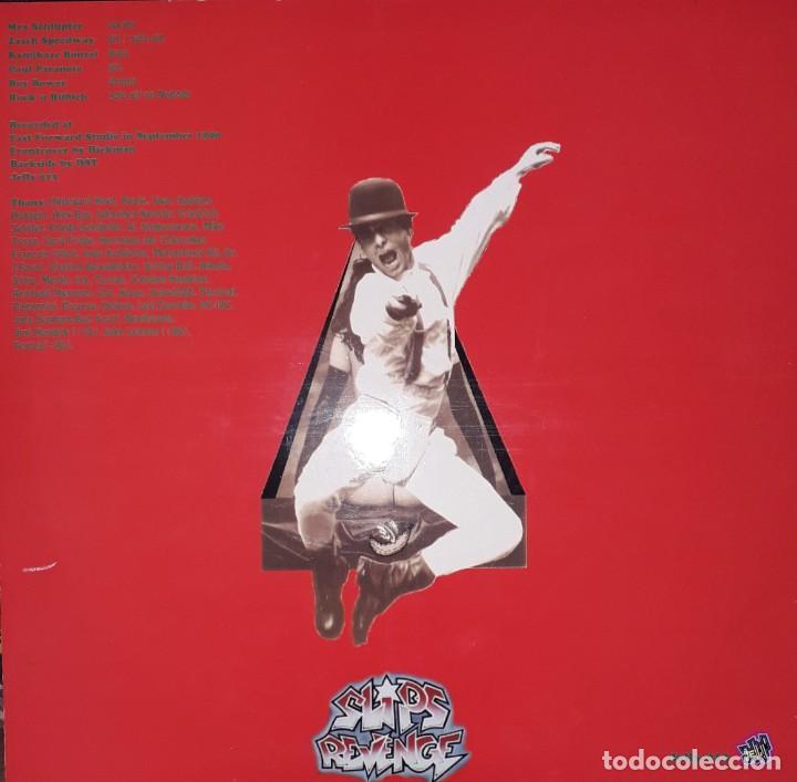 """Discos de vinilo: MAXI E.P. 12"""" - SLIPS REVENGE - Slipping Inside (1990 Punk-Rock)-Red Vinyl!!! - Foto 2 - 243127125"""