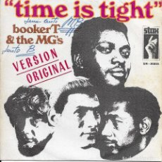 Discos de vinilo: BOOKER T & THE MG'S TIME IS TIGHT. Lote 243134090