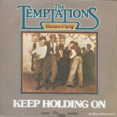 Discos de vinilo: THE TEMPTATIONS KEEP HOLDING ON. Lote 243134815