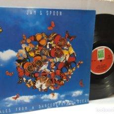 Discos de vinilo: DISCO EPS 33 -JAM & SPOON-TALES FROM A DANCEOGRAPHIC OCEAN- EN FUNDA ORIGINAL 1992. Lote 243136735