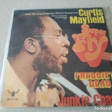 Discos de vinilo: CURTIS MAYFIELD. SUPER FLY. BUDDAH RECORDS, 1972.. Lote 243137705